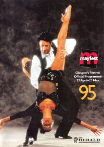 Mayfest 1995 Booklet Front Cover